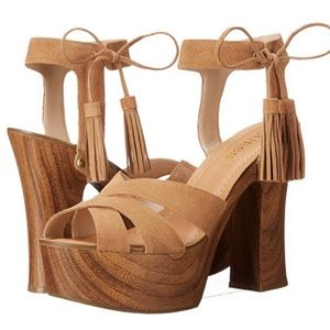 Guess wedges in OLIVE